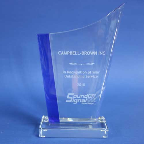 Campbell-Brown SoundOff Signal Outstanding Service Award